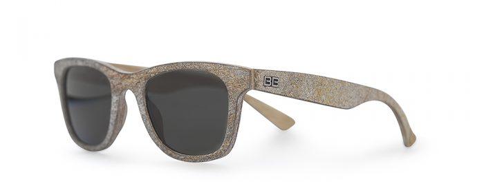 steen houten zonnebril